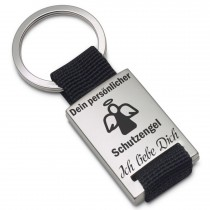 Metall Schlüsselanhänger Modell: persönlicher Schutzengel