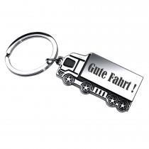 Metall Schlüsselanhänger mit Wunschgravur Modell: LKW