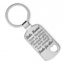 Metall Schlüsselanhänger - Gute Sachen gibt es selten