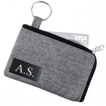 Schlüsseltasche / Geldbörse mit Kartenfach - optional gravierbar