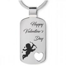 Metall Schlüsselanhänger Modell: Happy Valentines Day - verschiedene Modelle
