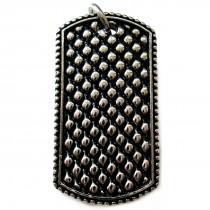 Edelstahlanhänger mit Diamantgravur