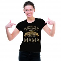 Damen T-Shirt Modell: Mama