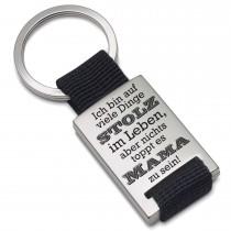 Lieblingsmensch Metall Schlüsselanhänger Modell: Ich bin auf viele Dinge stolz