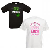 Shirts zum Junggesellenabschied - Nach diesem Abend - Bräutigam - individualisierbar