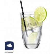 """Leonardo GIN-Glas """"Nach mir die GINflut"""""""
