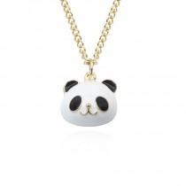 Halskette mit Panda Anhänger