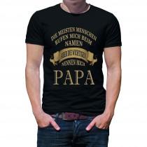Herren T-Shirt Modell: Papa