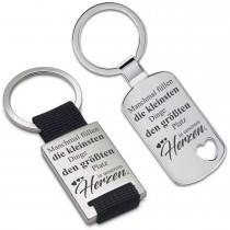 Metall Schlüsselanhänger - Manchmal füllen die kleinsten Dinge...
