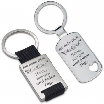Schlüsselanhänger: Ich liebe nur dich