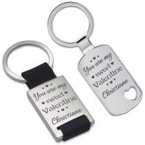 Schlüsselanhänger: Sweet Valentine (personalisierbar)