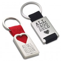 Metall Schlüsselanhänger - Alltagshelden für Sie und Ihn
