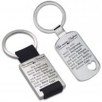 Metall Schlüsselanhänger - Für meine Ehefrau / Für meinen Ehemann