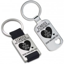 Schlüsselanhänger: Scheiss auf Valentinstag....