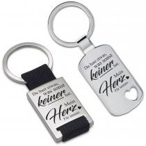 Metall Schlüsselanhänger - Du hast etwas, was sonst keiner hat.