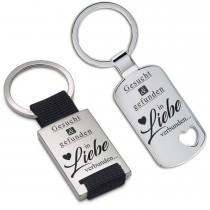 Metall Schlüsselanhänger - Gesucht und gefunden ...