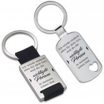 Metall Schlüsselanhänger - Ich würde einfach alles für dich tun ...