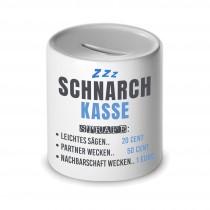 Spardose - Schnarchdose - Zahle fürs schnarchen