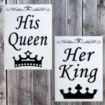 Das Adventskalender Partnerset - His Queen - Her King
