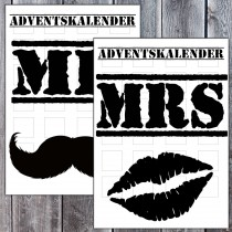 Adventskalender - Mr / Mrs