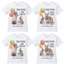 Kindershirt - Frohe Ostern! (große Schwester - großer Bruder)