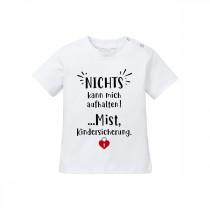Babyshirt - Modell: Nichts kann mich aufhalten