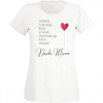 Damen T-Shirt Modell: Danke Mama