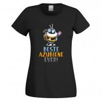 Funshirt weiß oder schwarz - als Tanktop, oder Shirt - Beste Azubiene ever!