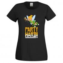 Funshirt weiß oder schwarz - als Tanktop, oder Shirt - Party Hard!
