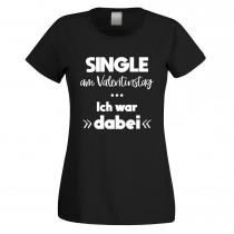 Funshirt oder Tanktop: Single am Valentinstag