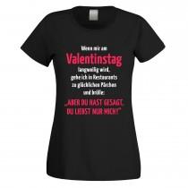 Funshirt oder Tanktop: Valentinstag