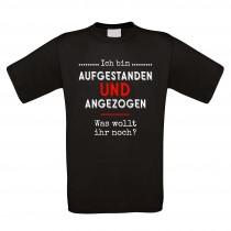 Funshirt weiß oder schwarz, als Tanktop oder Shirt - Was wollt ihr noch?