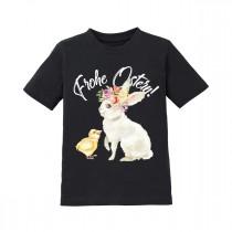 Kinder T-Shirt Modell: Frohe Ostern! (Mädchen)