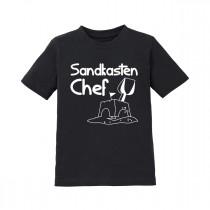 Kinder T-Shirt Modell: Sandkasten CHEF