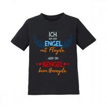 Kinder - Babyshirt Modell: Ich bin kein Engel mit Flügeln - aber ein Bengel....