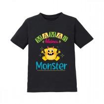 Kinder T-Shirt Modell: Mamas kleines Monster.