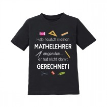 Kindershirt: Mathelehrer