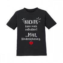 Kindershirt - Modell: Nichts kann mich aufhalten