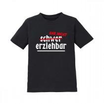Kinder T-Shirt Modell: schwer (gar nicht) erziehbar