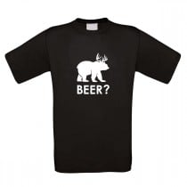 Funshirt weiß oder schwarz - Beer?