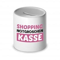 Spardose - Shopping Notgroschen Kasse
