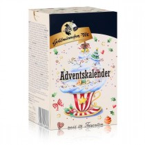 Tee Adventskalender mit 24 Teesorten