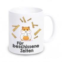 Tasse mit Motiv - Hamster für besch... Zeiten