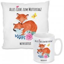 Kissen oder Tasse: Alles Liebe zum Muttertag!  (personalisierbar)