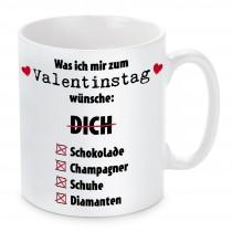 Tasse: Was ich mir zum Valentinstag wünsche