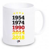 """Tasse """"Fußball WM 2018"""""""