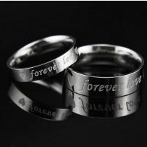 Eheringe 2er-Set Forever Love Titan