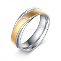 Damenring / Verlobungsring mit Strassteinen