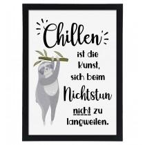 Wandbild: Chillen