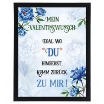Wandbild: Mein Valentinswunsch